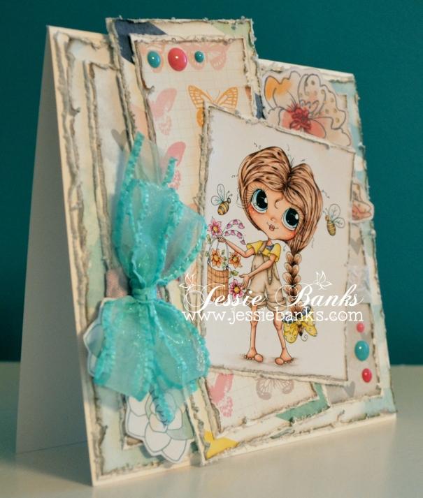 Flower basket girl 2