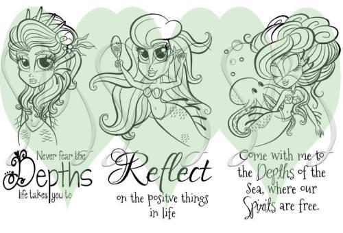 Mermaid trio watermarked