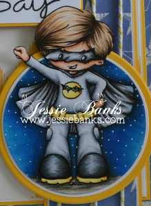 My Batty Hero close up