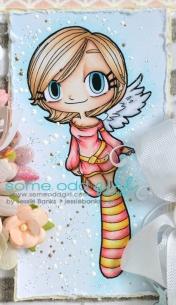 SOD Angel Kaylee close up