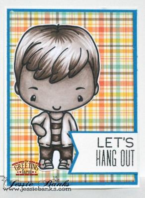 The Greeting Farm - Hang out Ian - Jessie Banks WM