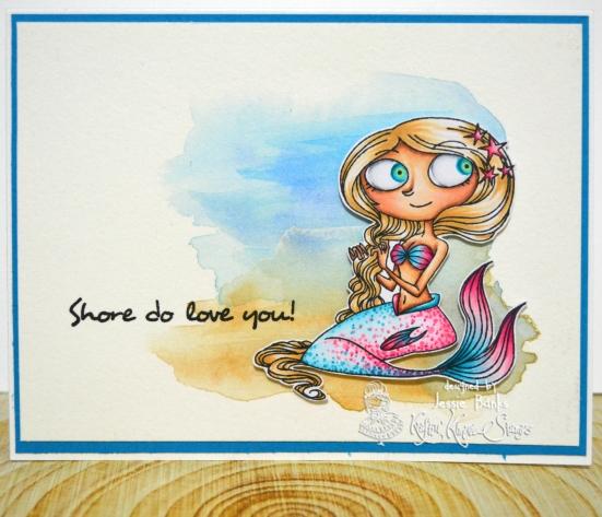 Kraftin Kimmie Stamps - Sea Jewles - Jessie Banks