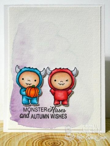 Kraftin Kimmie Stamps - Monster Mash - Jessie Banks