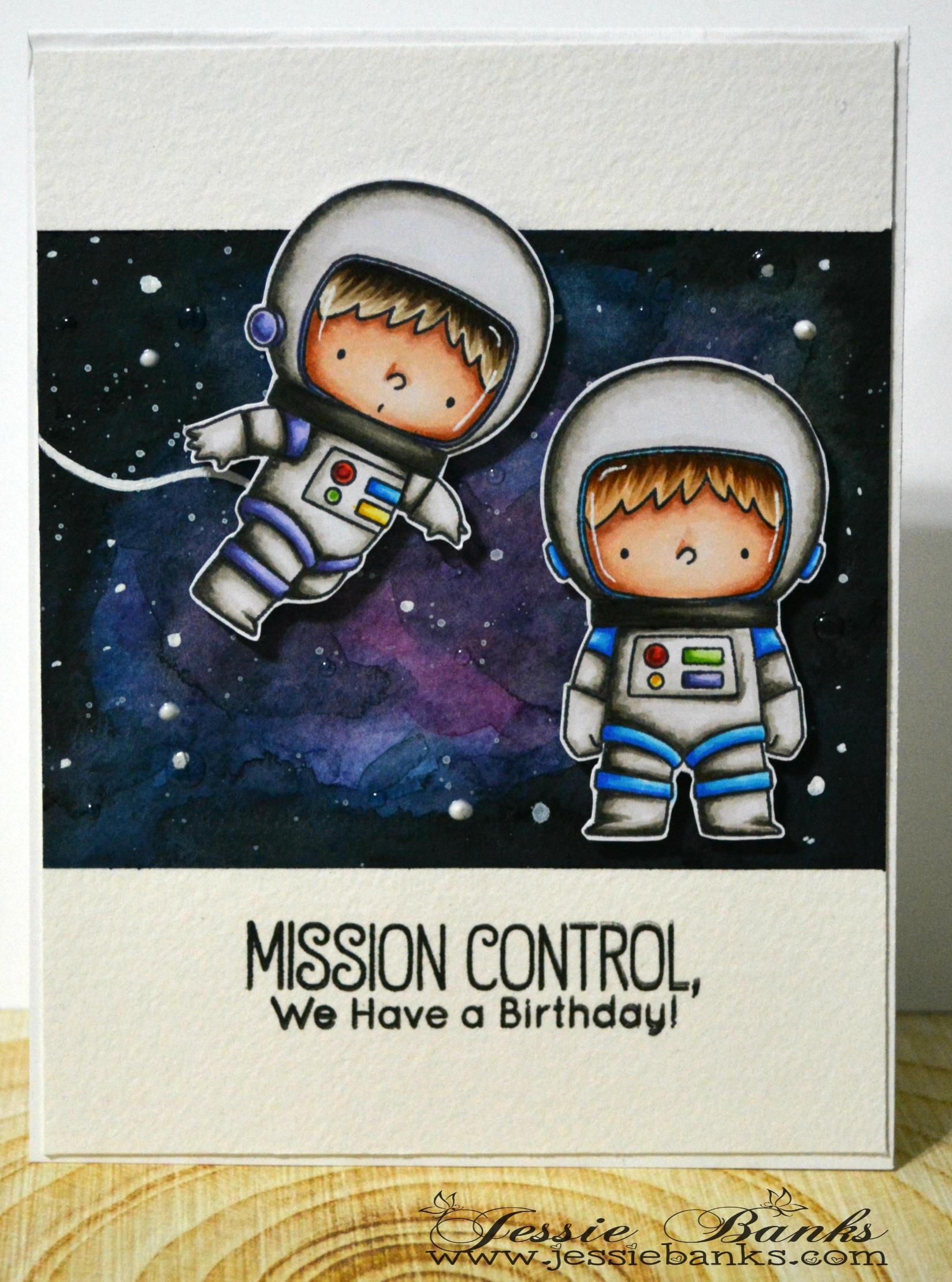 MFT Stamps - Space Explorers 2 - Jessie Banks
