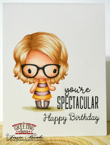 The Greeting Farm - Youre Spectacular - Jessie Banks 2