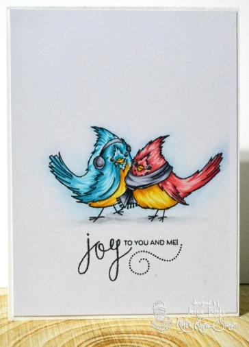 Kraftin Kimmie Stamps - bird - Jessie Banks