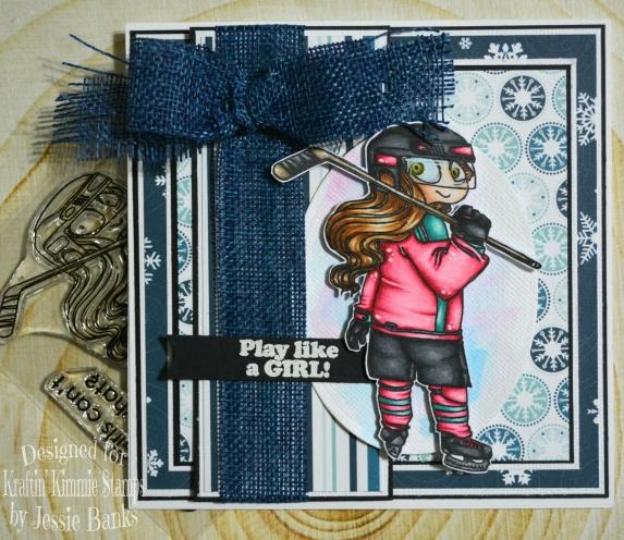 Kraftin Kimmie Stamps - Stacie Slapshop - Jessie Banks