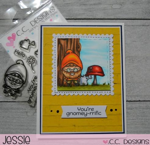CC Designs - Gnomey - Jessie Banks