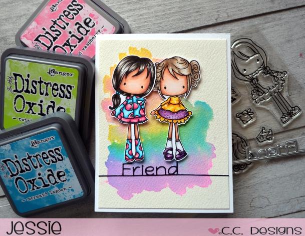C.C. Designs - Spring Pinkies - Jessie Banks