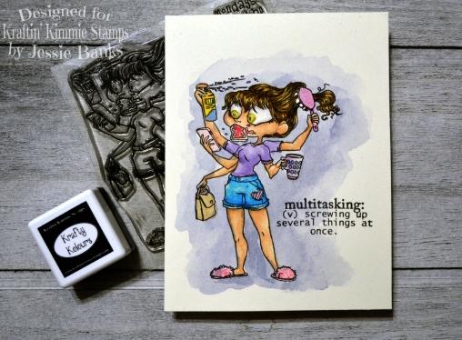 Kraftin Kimmie Stamps - Busy Beatrice - Jessie Banks