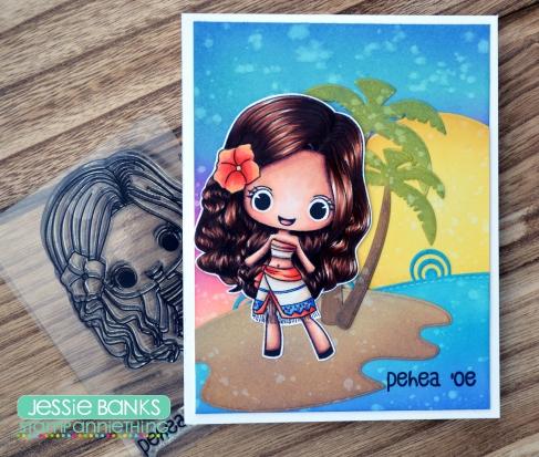 Stamp Anniething - Chloe Pehea 'Oe - Jessie Banks