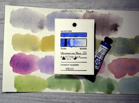 Colour Focus - Ultramarine Blue