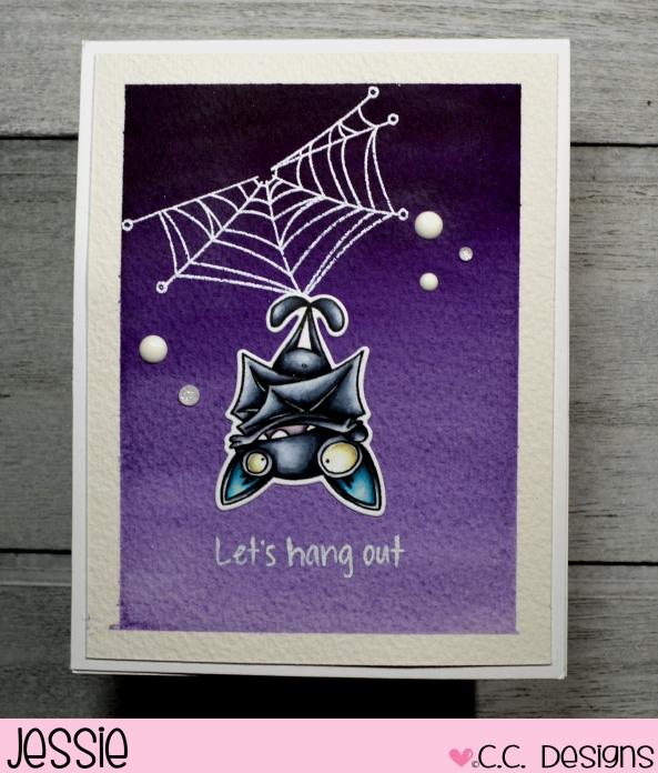 C.C. Designs - Bats & Spider - Jessie Banks