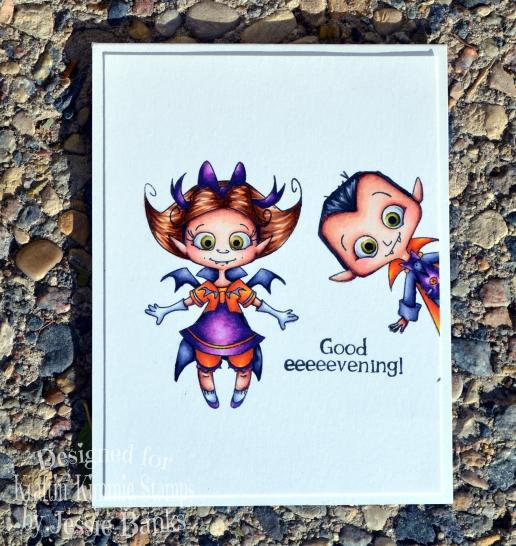 Kraftin Kimmie Stamps - Spooky suckers 2- Jessie Banks