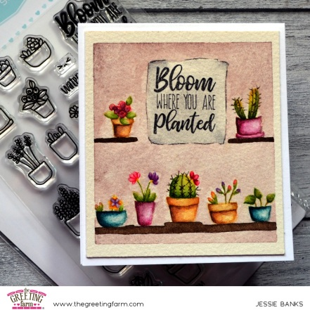 The Greeting Farm - Potted Plants 2 - Jessie Banks