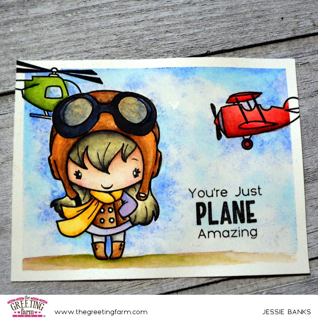 The Greeting Farm - Plane Amazing - Jessie Banks