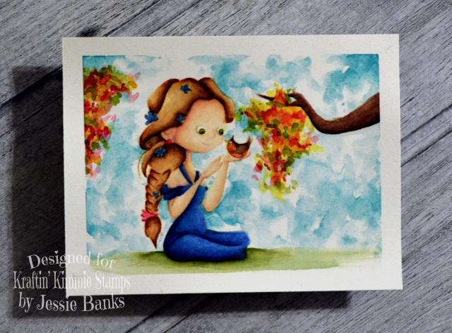 kraftin kimmie stamps - tweedie pies - jessie banks