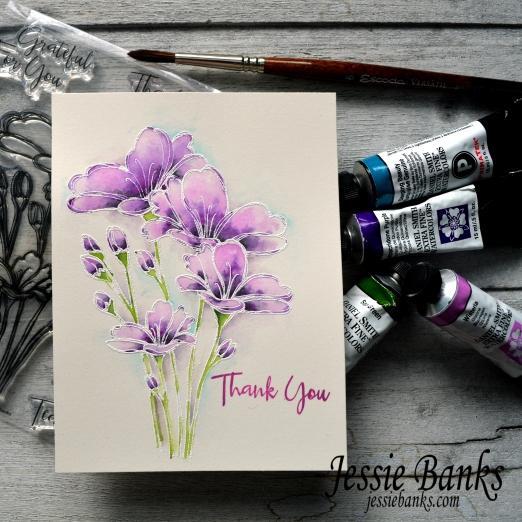 Simon Says Stamp - bouquet of thanks - jessie banks 2