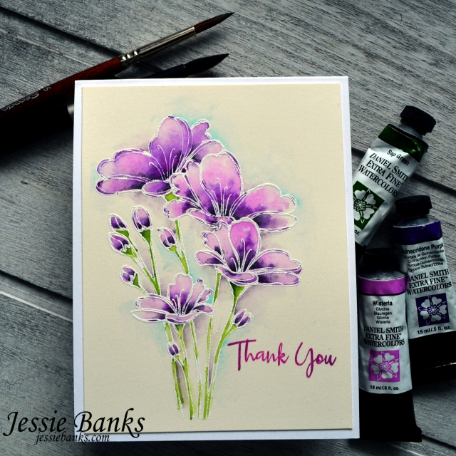 Simon Says Stamp - Bouquet of thanks - Jessie Banks 3